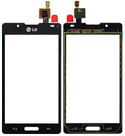 Сенсорный экран (тачскрин) LG P713 Optimus L7 II | P710 чёрный ориг. к-во