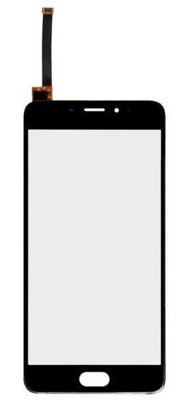 Сенсорный экран (тачскрин) Meizu M3e чёрный