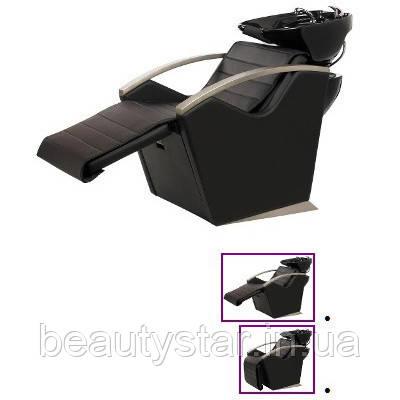 Парикмахерская Мойка для салона красоты Премиум регулировка спинки и подставки для ног  2 эл.мотора  E043