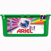 Ariel капсулы 3 в 1 для цветного белья 32 стирки