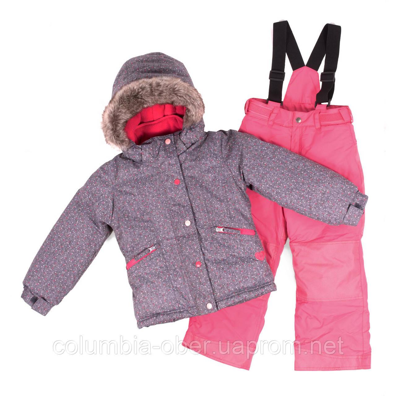 Зимний комплект для девочки PELUCHE F18 M 62 EF Stone / Fraisinette. Размеры 3-8.