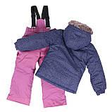 Зимний комплект для девочки PELUCHE F18 M 62 EF Dk Heaven / Dust Lilac. Размеры 3-8., фото 2