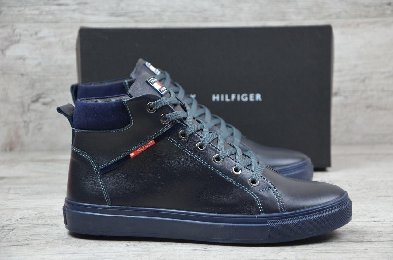 f3bc128b7 Tommy Hilfiger ботинки мужские синие (Реплика), цена 1 420 грн ...