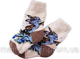 """Шерстяные женские носки """"Зайчик"""""""