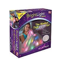 Лед Одеяло с подсветкой Светлячок односпальное 90х120