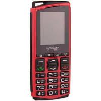 Мобильный телефон Sigma Comfort 50 mini4 Red Black (4827798337424)