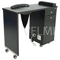 Маникюрный стол однотумбовый с выдвижными ящиками для мастера маникюра мебель для салонов красоты VM122