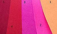 Фетр для творчества, разные цвета, толщина 1 мм., 20х30 см., 9 грн.