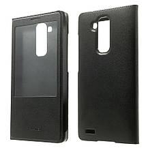 Чехол книжка Window View для Huawei Ascend Mate7 черный