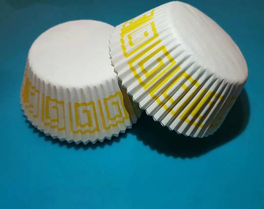 Тарталетки (капсулы) бумажные для кексов, капкейков Греция 4, фото 2