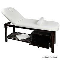Стационарный Массажный стол двухсекционный ZD-870 для массажа, высота-75см