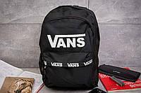 Рюкзак унисекс Vans , черные (90023),  [ 1  ](реплика)