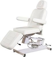 Кресло Кушетка косметологическая для татуажа электрическая регулировка высоты стационарная BS-3705