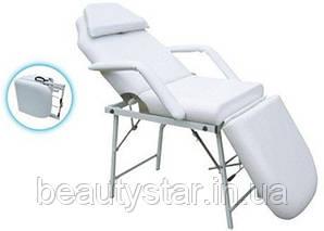 Кушетка косметологическая складная переносная косметологическое кресло -кушетка ZD-802AF