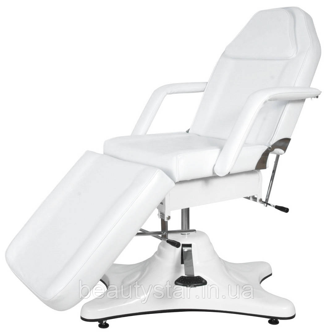 Кушетка косметологическая гидравлическая (регулируемая) ZD-823 Кресло -кушетка для врача - косметолога