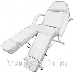 Кушетка косметологическая для наращивания ресниц, кресло-кушетка для педикюра с раздельной подножкой  ZD-813A