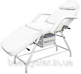 Кресло Кушетка косметологическая стационарная механическая с ящиками/лотками BS-262