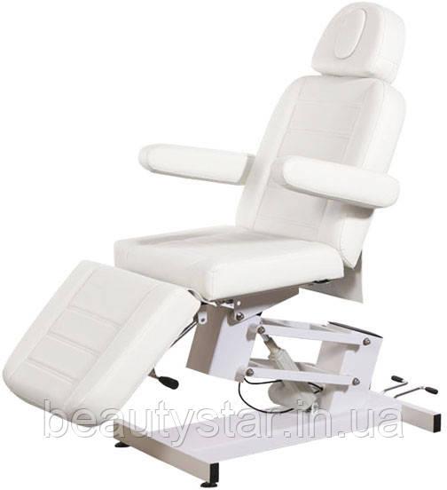 Кушетка косметологічна електрична стаціонарна BS-3705-біла