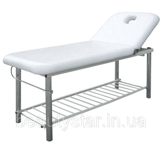 Массажный стол - Кушетка для наращивания ресниц механическая BS-219 с креплением для рулона простыней