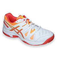 42433a43 Кроссовки детские Asics Gel-game 5 GS white/hot coral/nectarine (C502Y