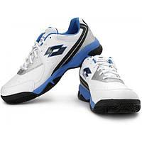 Кроссовки мужские Lotto T-EFFECT V white-blue (N8214)