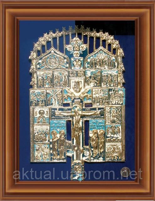 Икона Распятие Христово с избранными святыми