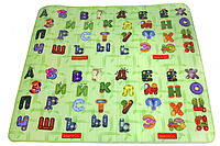 """Детский двухсторонний коврик  """"Happy Alphabet""""  2000х1800х12 мм"""