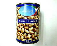 """Фасоль """"Борлотти"""" в собственном соку 400 г"""