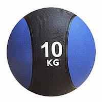 Мяч гимнастический, медицинский, утяжеленный (медбол) Rising 10,0 кг