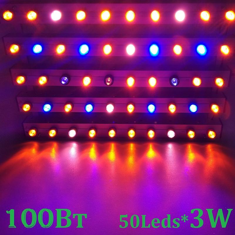 Светодиодный светильник для растений GrowSvitlo ,100 Вт, мультиспектр