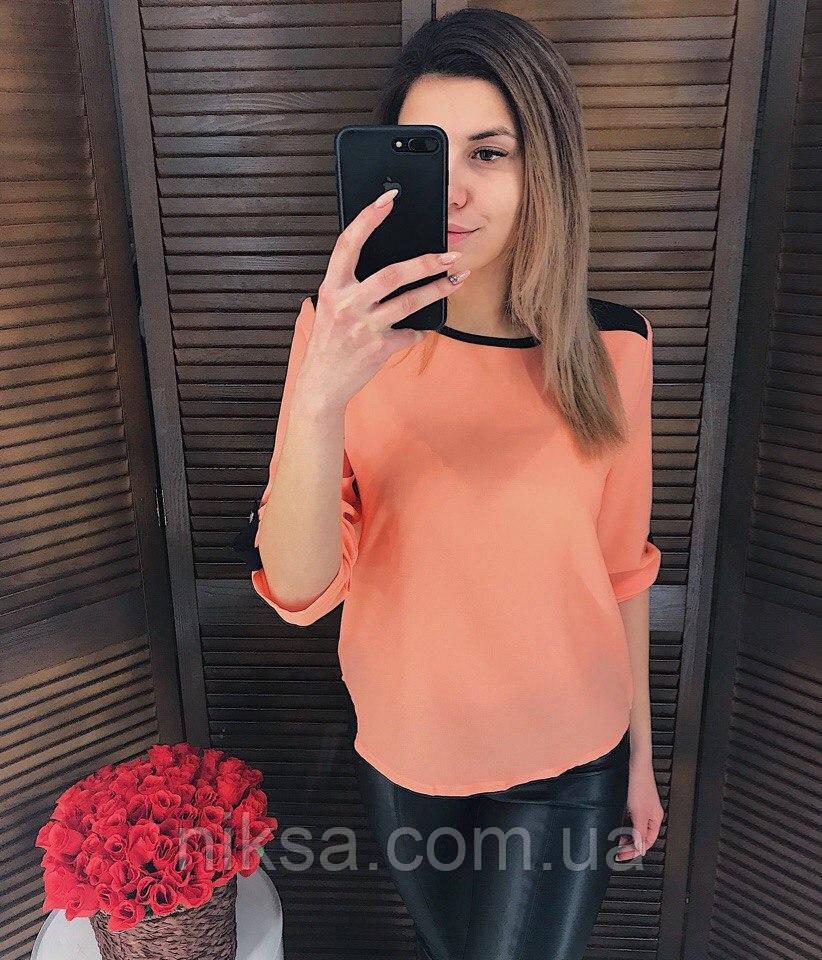 Блузка ТМ K&ML Креп-Шифон, разные цвета