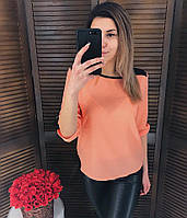 Блузка ТМ K&ML Креп-Шифон, разные цвета, фото 1
