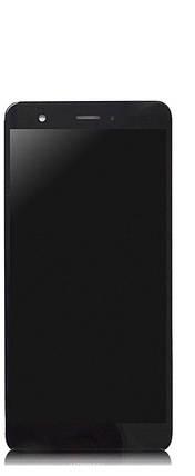 Дисплей (экран) для Huawei Nova CAN-L01 с сенсором (тачскрином) и рамкой черный без микросхемы, фото 2