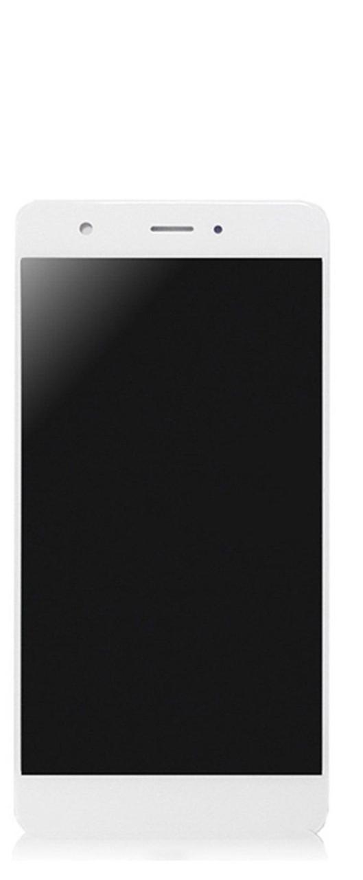 Дисплей (экран) для Huawei Nova CAN-L01 с сенсором (тачскрином) и рамкой белый без микросхемы