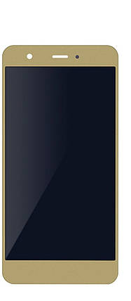 Дисплей (экран) для Huawei Nova CAN-L01 с сенсором (тачскрином) и рамкой золотистый без микросхемы, фото 2