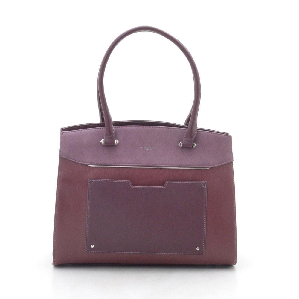 Женская сумка D. Jones CM3932 d. bordeaux (бордо)