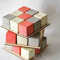 Ярусна конструкцiя для торту ДВП товщиною 3мм круг 300*240*180, фото 1
