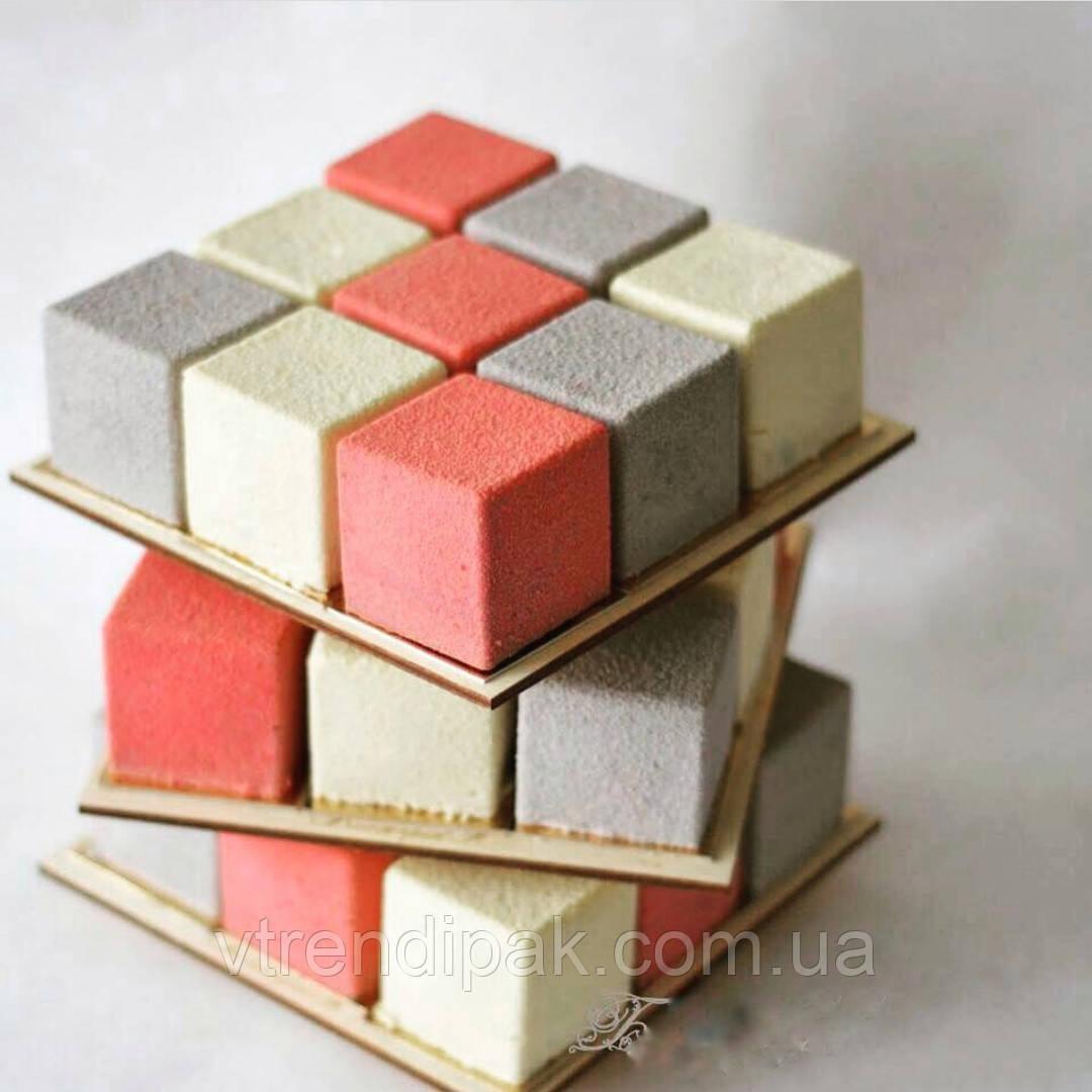 Ярусна конструкцiя для торту ДВП товщиною 3мм круг 300*150