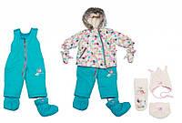 Зимний комплект Deux par Deux A500-581 для девочек