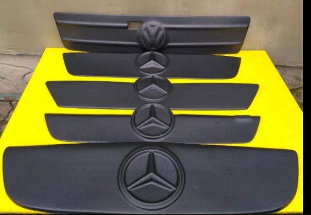 Зимові накладки на решітку радіатора (зимняя защита)