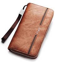 Мужской портмоне-клатч с ручкой Baellerry Jeans S1512 (987327) КОД: 366130