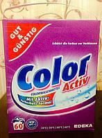 Стиральный порошок Color Activ 4,8 кг. Для цветного белья. Германия. , фото 1