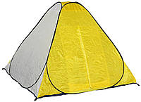 Палатка Fishing ROI 200*200*125см. кол. жовтобілий арт.300038135 ТМFishing ROI КОД: 346338