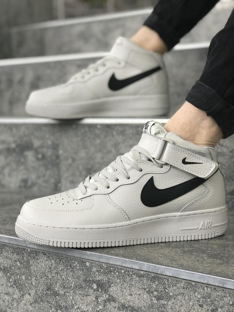 Мужские кроссовки Nike Air Force 1 Mid, Реплика