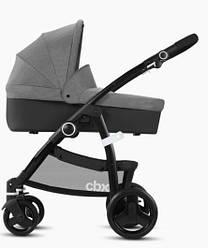 Коляска 2 в 1 CBX Leotie Pure RBA, цвет Comfy Grey