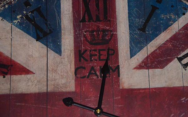 Красивые настенные часы United Kingdom (60 см.) (фото)