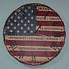 Красивий настінний годинник USA (60 см)
