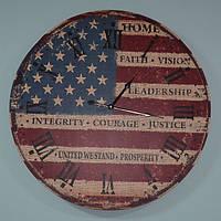 Красивий настінний годинник USA (60 см), фото 1
