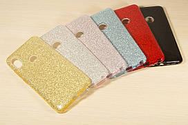 Переливающийся силиконовый чехол для Xiaomi Redmi Note 5 / Note 5 Pro (6 Цветов)