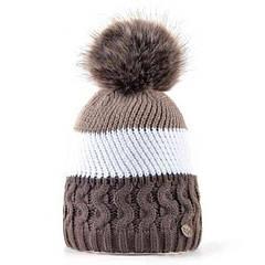 Детские шапки вязаные с пампоном - новая зимняя мода из Одессы